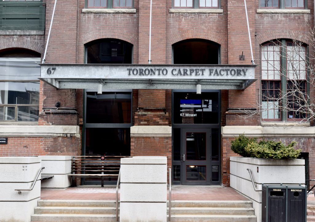 The Toronto Carpet Factory was the former scene of multiple sites. Ironically it is now the base of Beanfield Metroconnect, one of the previous internet suppliers to the porn industry.