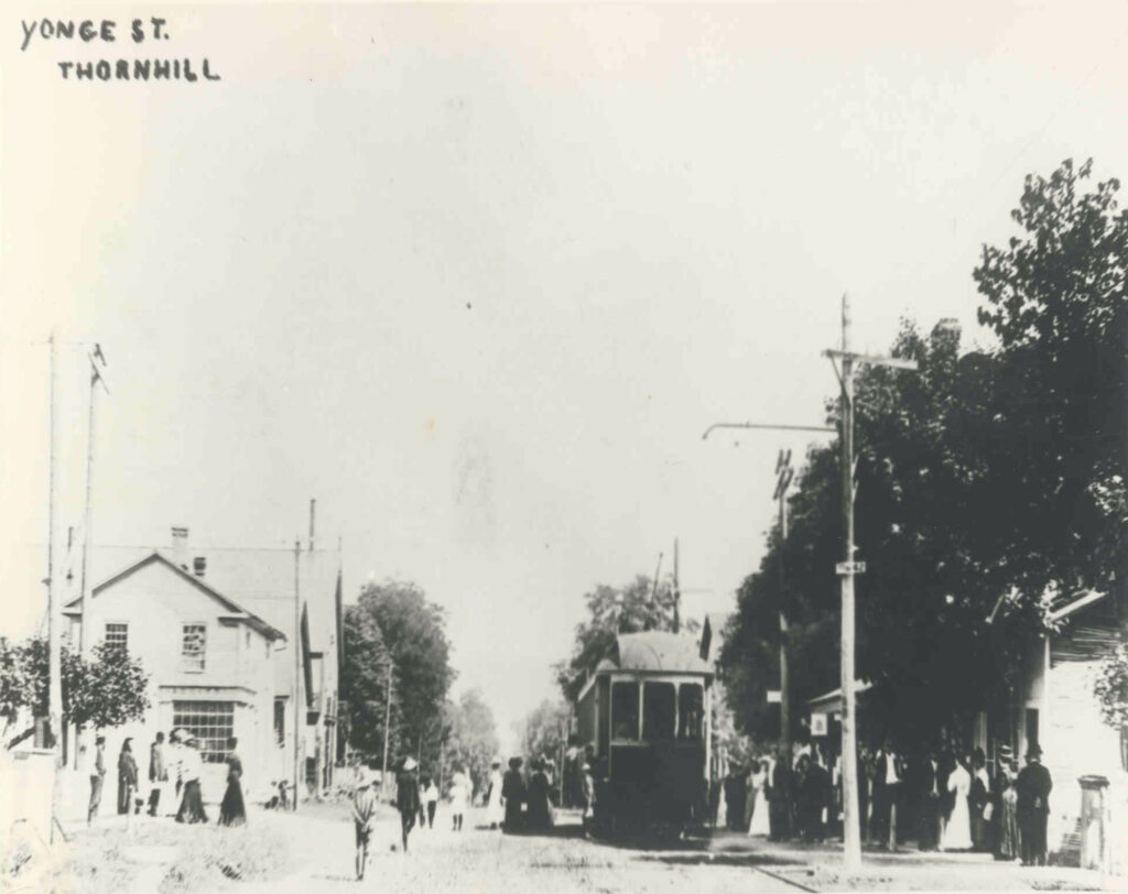 Thornhill at Yonge and Centre streets circa 1900. (Courtesy City of Vaughan  Archive)